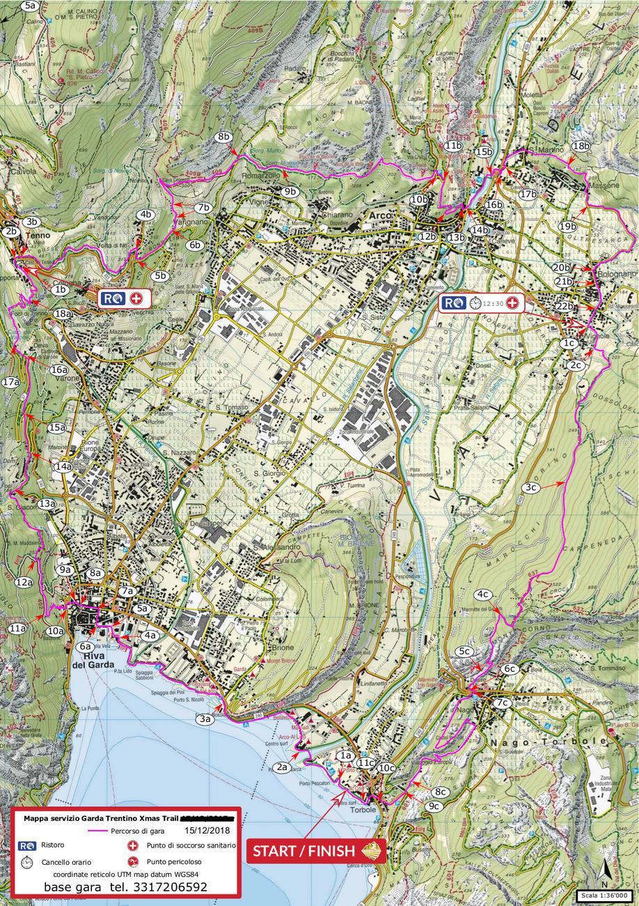 Garda Trentino Xmas Trail 15.12 da Torbole