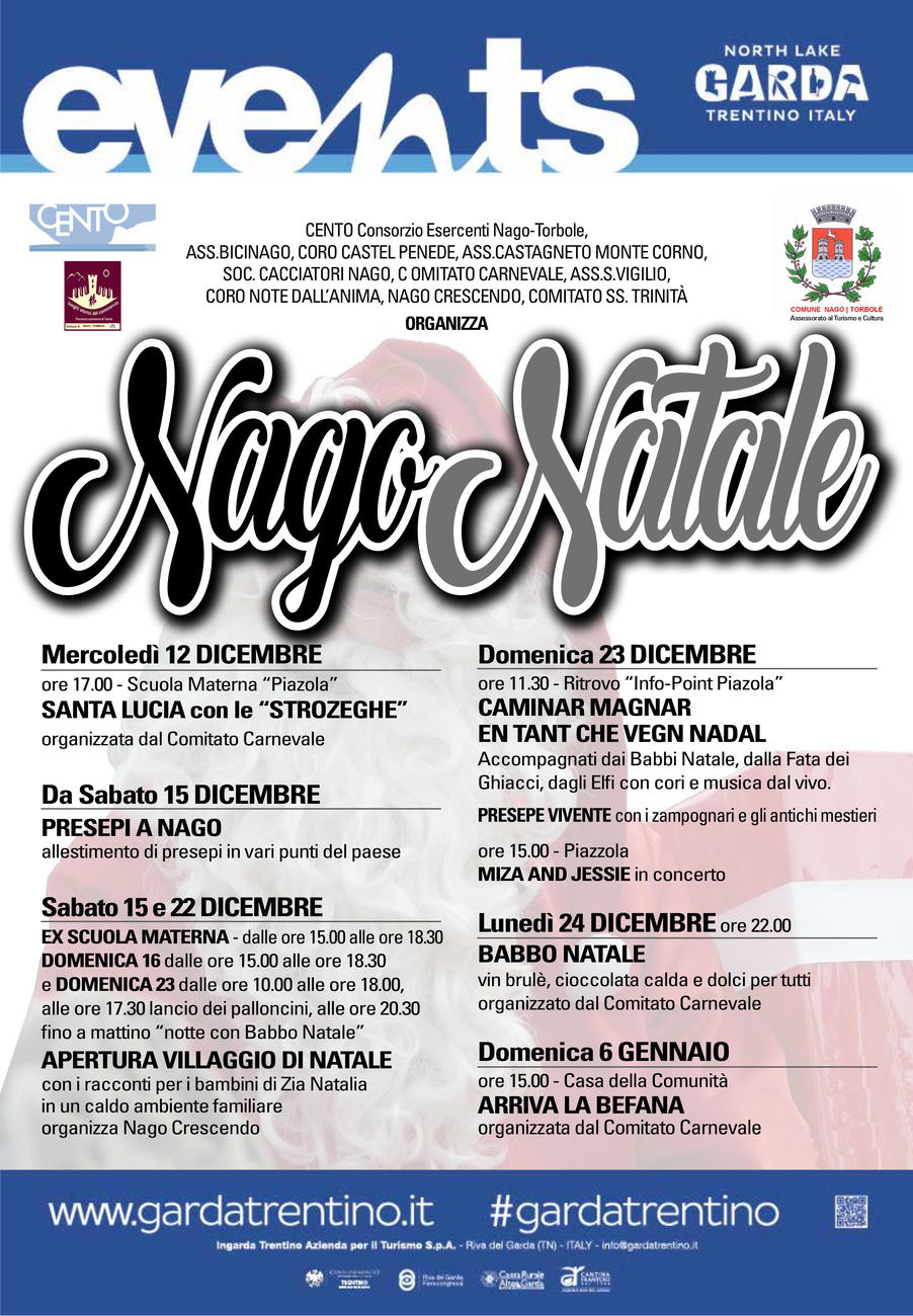 """Santa Lucia e le """"strozeghe"""" a Nago e Torbole"""